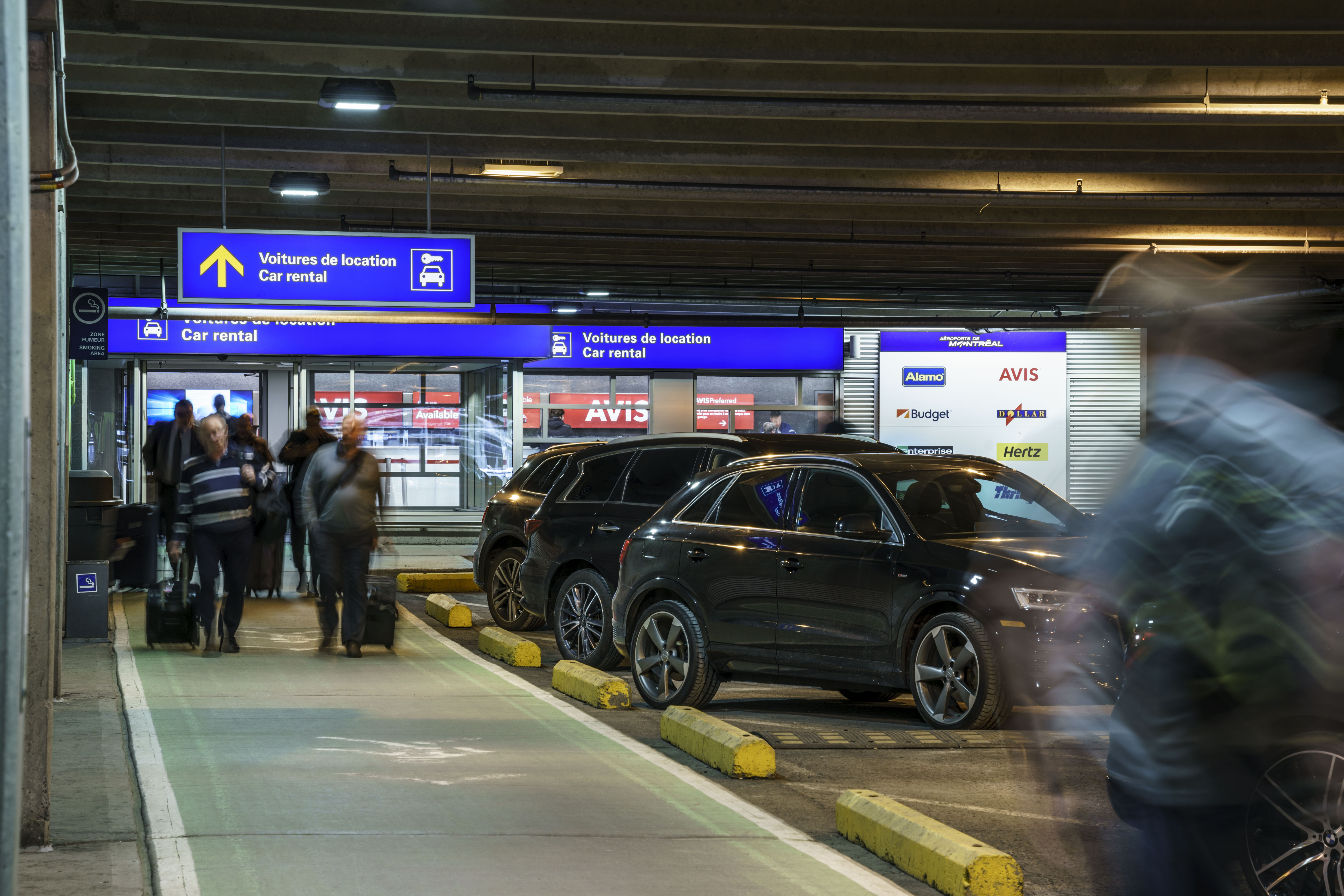 Car Rental Montreal >> Where Are The Vehicle Rental Service Counters Montreal Trudeau